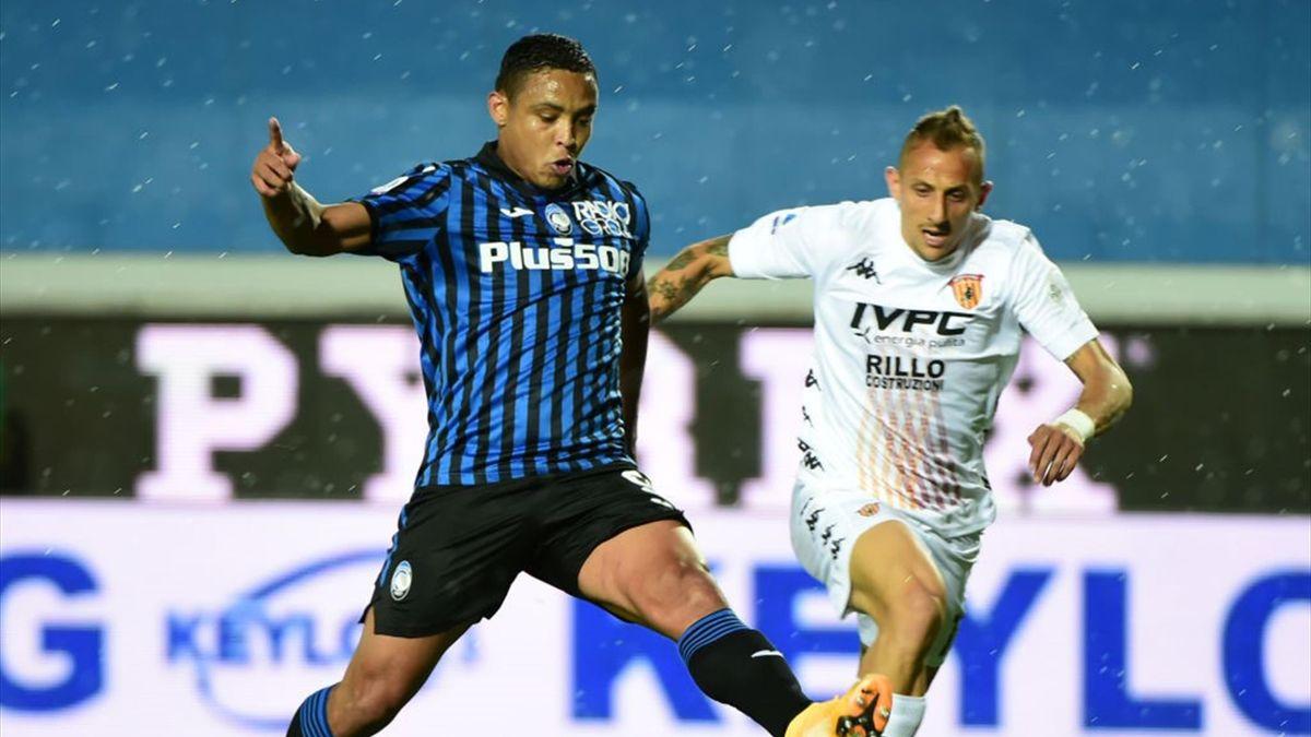Il gol di Luis Muriel - Atalanta-Benevento Serie A 2020-21