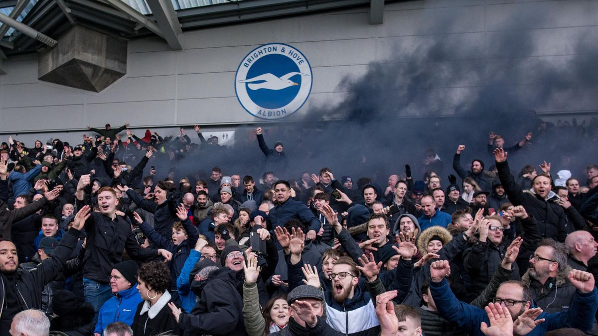 Brighton could allow 4,000 fans back to its stadium from next week