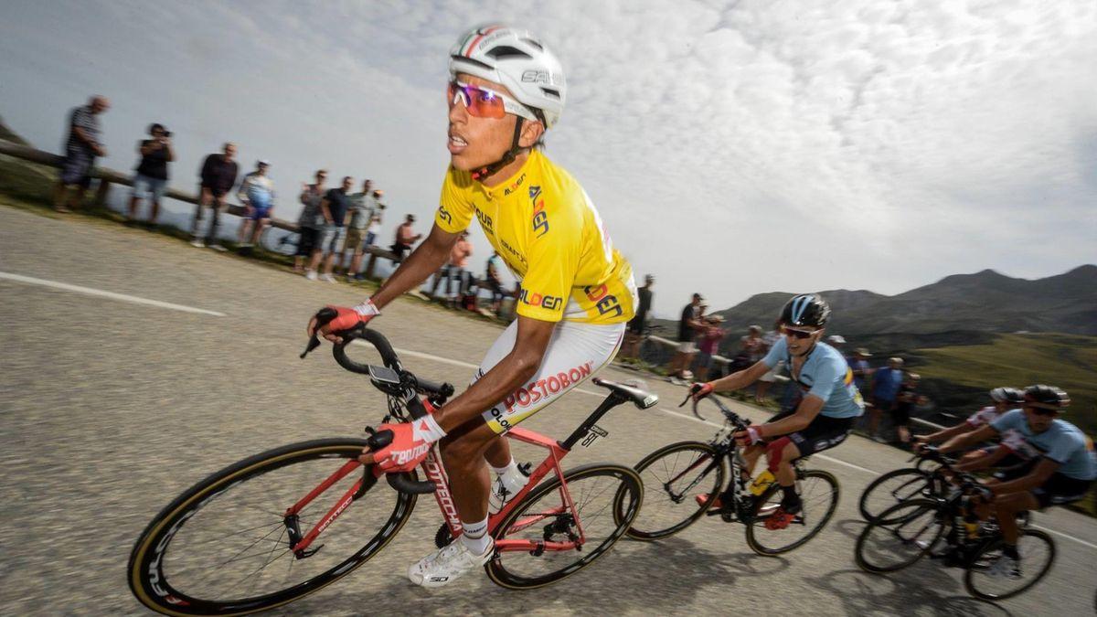 Egan Bernal en el Tour del Porvenir (Foto: Facebook Tour de L'Avenir)