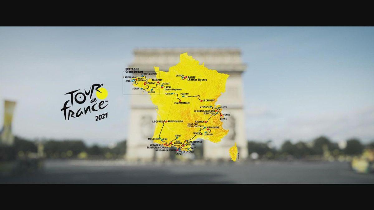 Tour de France 2021 - Profile