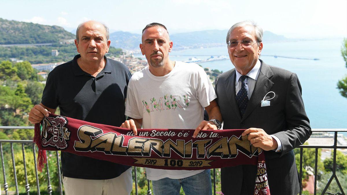 Franck Ribery, nuovo giocatore della Salernitana