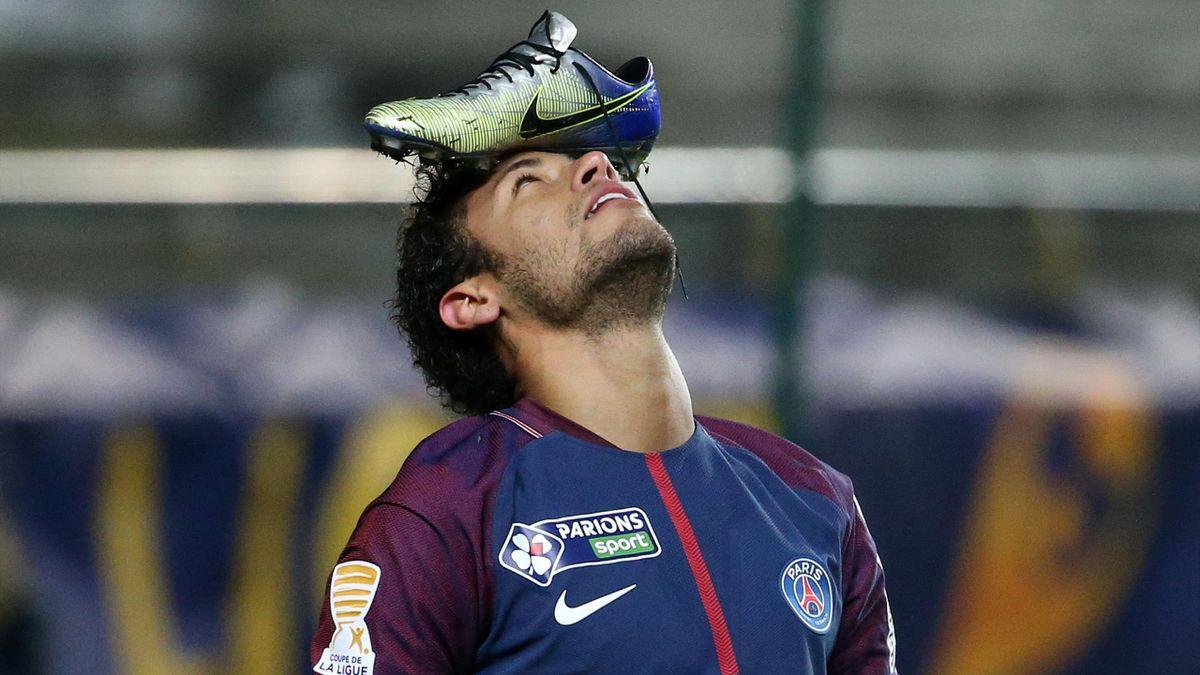 Neymar Jr. 2018 (Amiens SC gegen Paris SG)