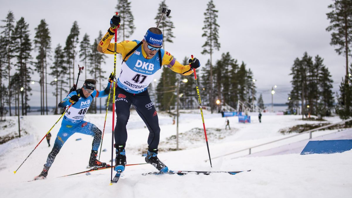 Erik Lesser in Kontiolahti (2020)