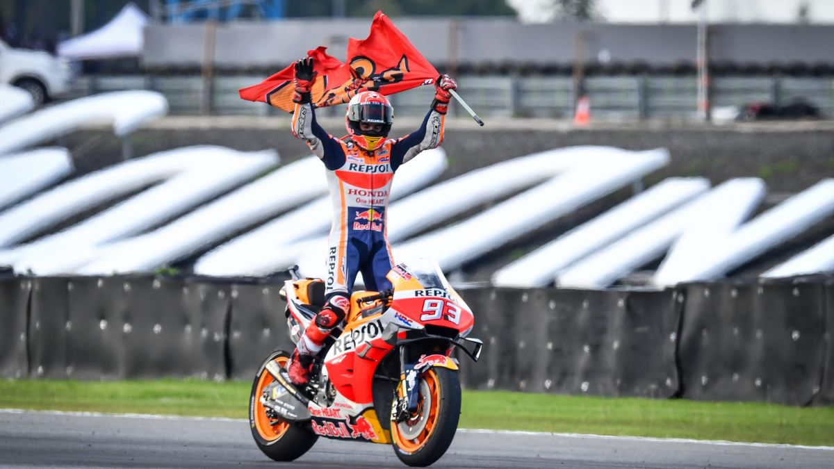 Marc Marquez (Honda HRC) - GP of Thailand 2019