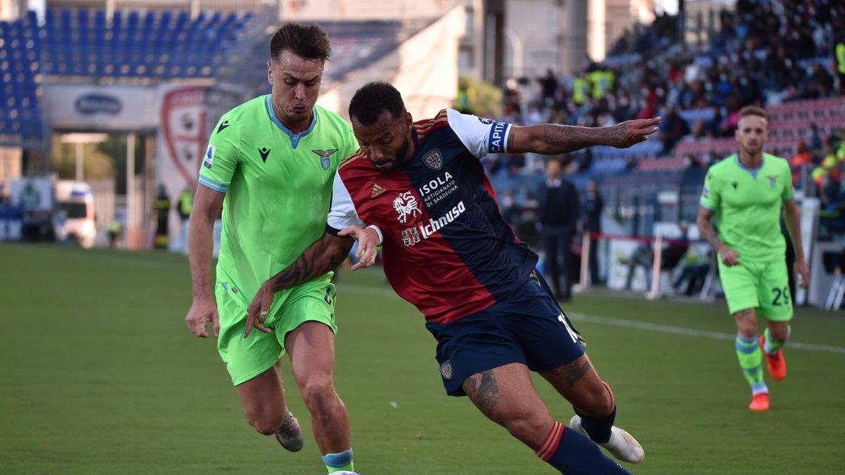 Joao Pedro, Patric, Cagliari-Lazio, Getty Images