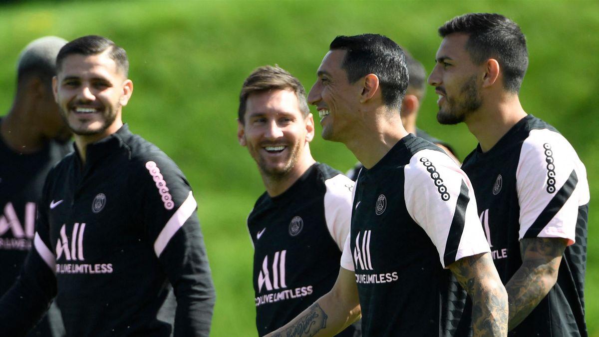 Mauro Icardi, Lionel Messi, Angel Di Maria et Leandro Paredes : les Argentins du PSG, dont certains clients fidèles de Volver