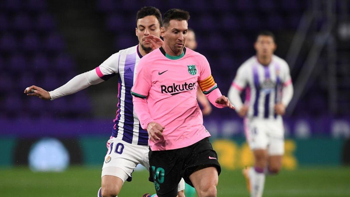 Messi Valladolid-Barcelona