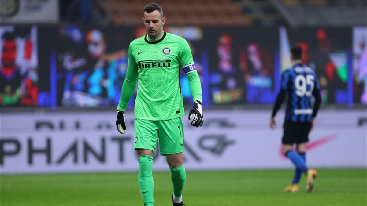 Handanovic - Inter-Juventus - Coppa Italia 2020/2021 - Getty Images