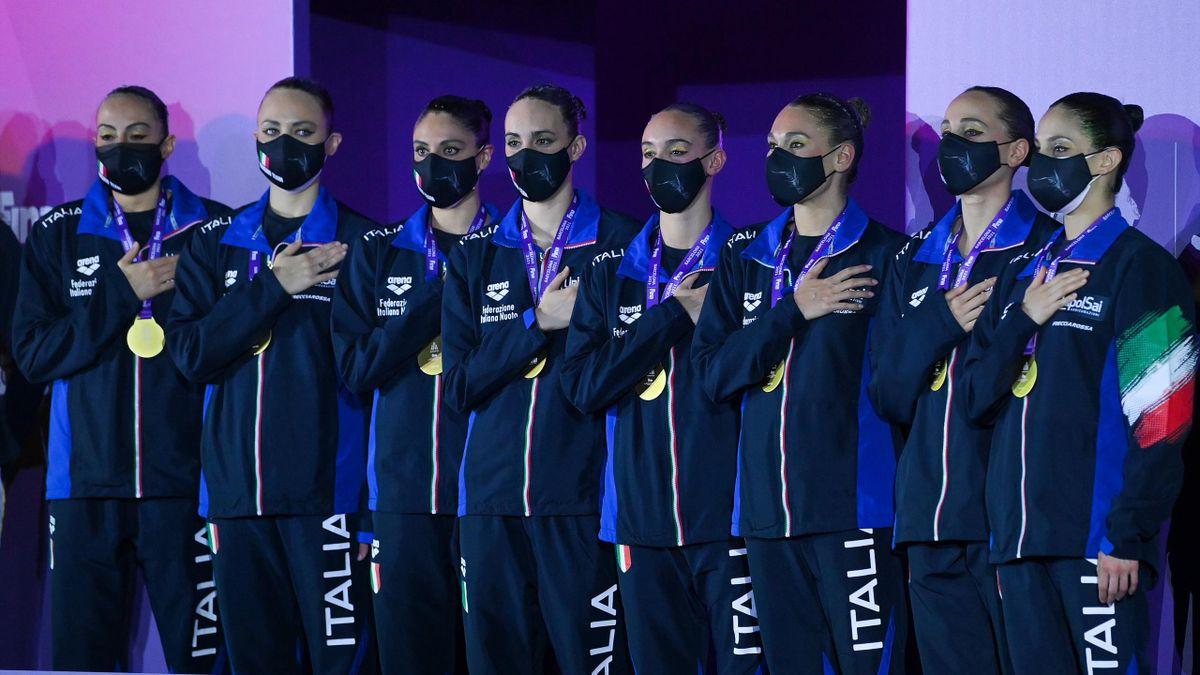L'Italia del nuoto sincronizzato vince il Torneo di Qualificazione Olimpica