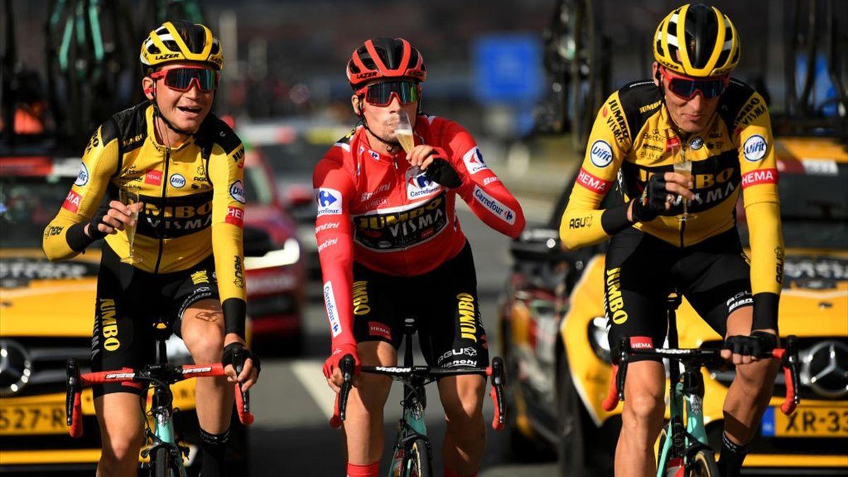 Primoz Roglic - Vuelta 2020, stage 18 - Getty Images