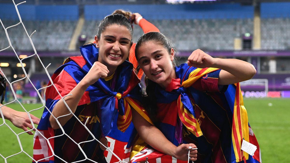 Футболистки «Барселоны»
