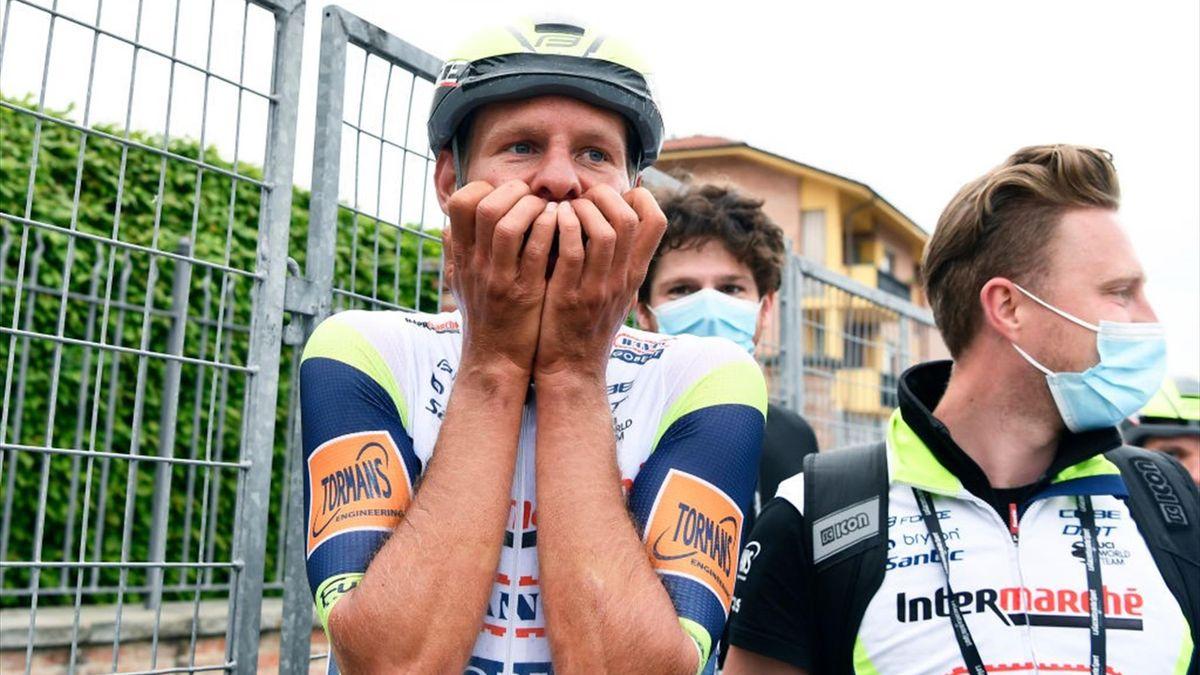 Van der Hoorn incredulo dopo la vittoria di Canale - Getty Images