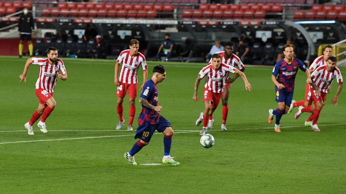 La panenka de Lionel Messi face à l'Atlético