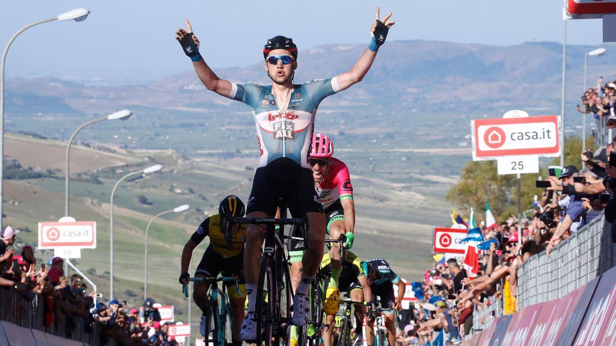 Tim Wellens remporte la 4e étape du Giro 2018