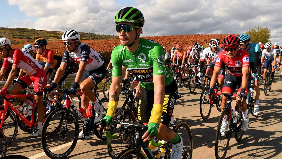 Primoz Roglic and Richard Carapaz | La Vuelta Stage 8
