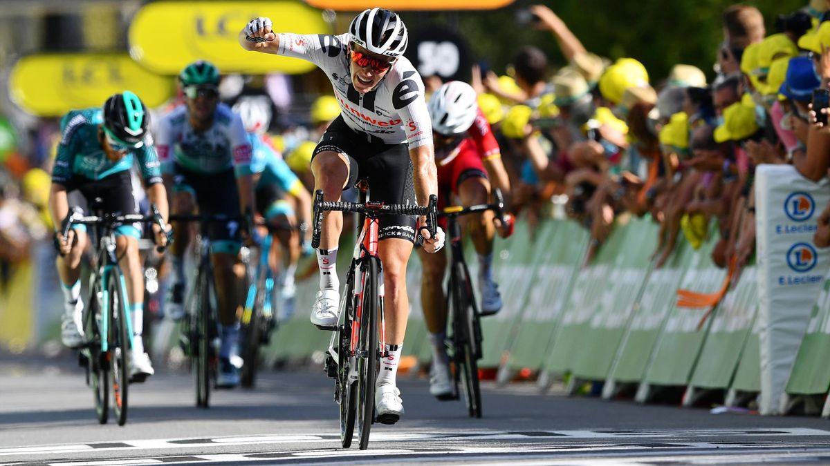 Marc Hirschi wins stage 12 of the Tour de France