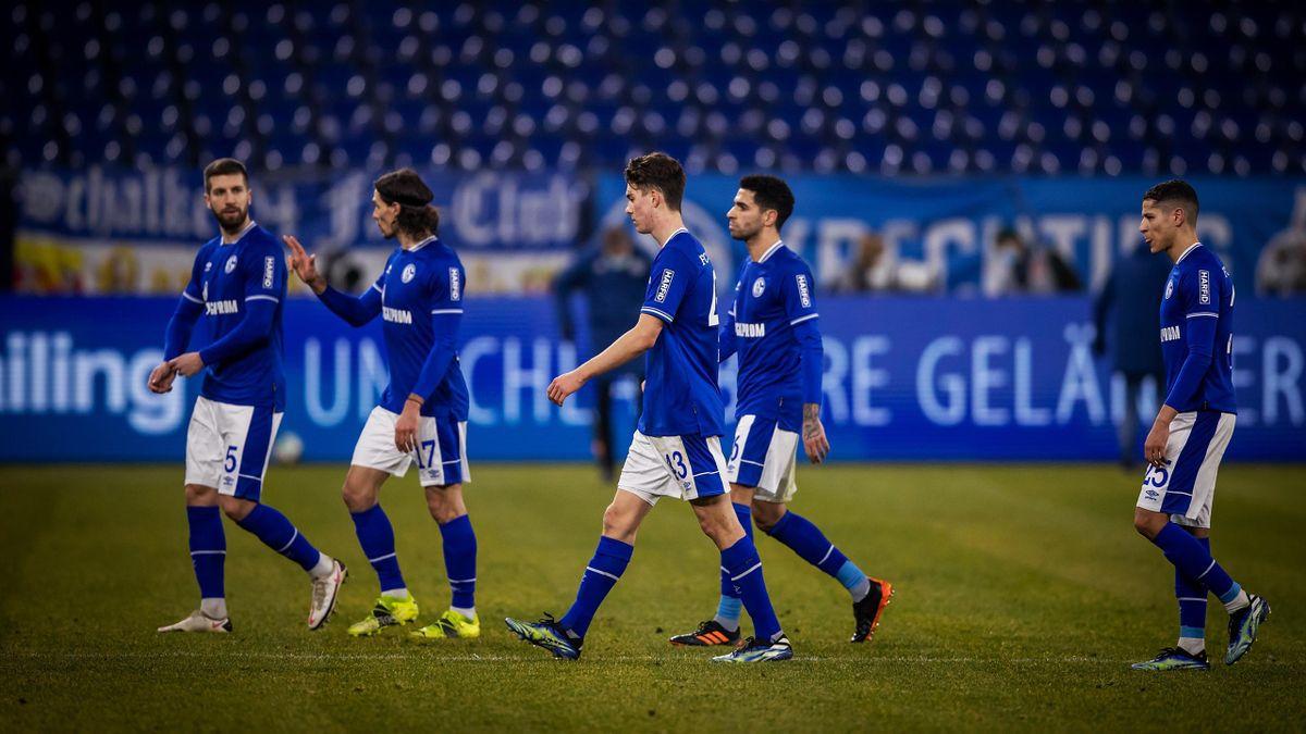 Die Profis des FC Schalke 04