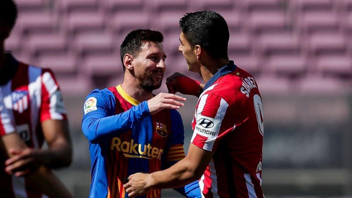 Lionel Messi and Luis Suárez, LaLiga