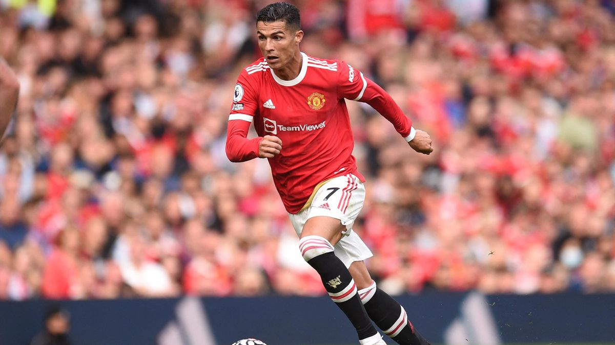 Cristiano Ronaldo lors de Manchester United-Newcastle.