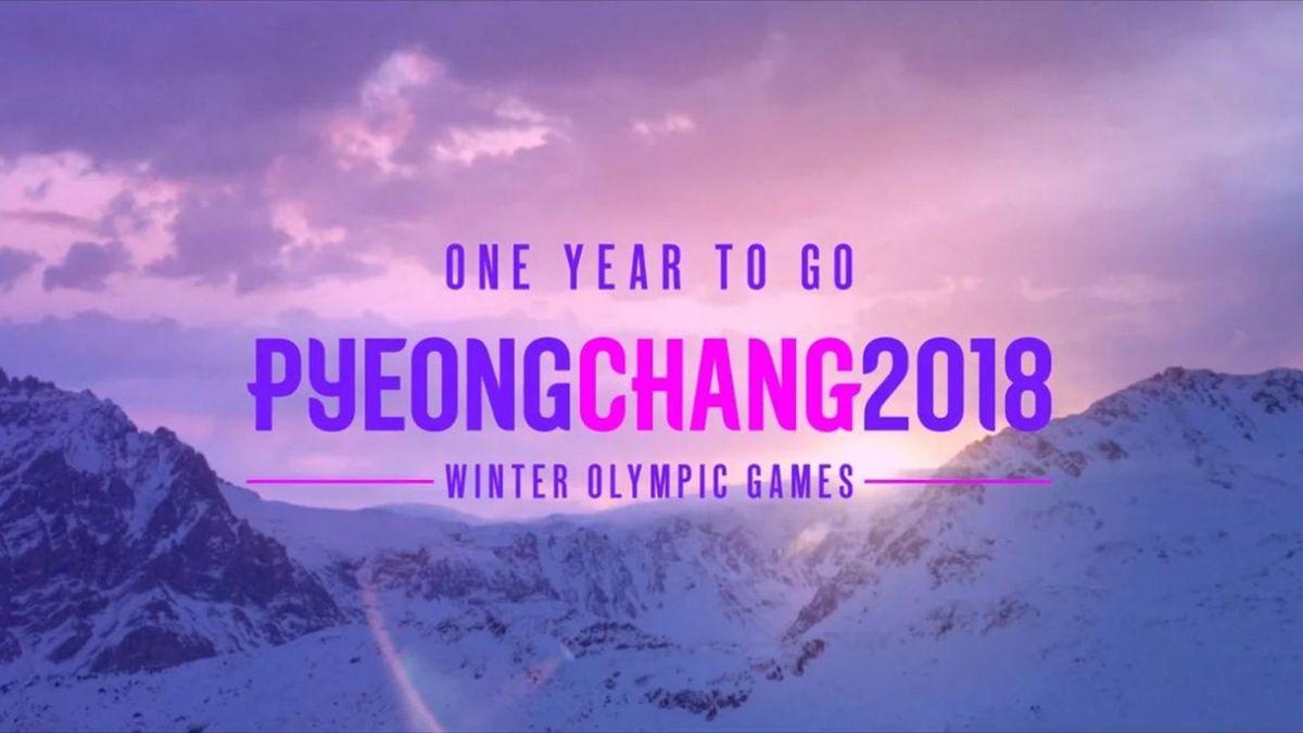 One year to go PyeongChang