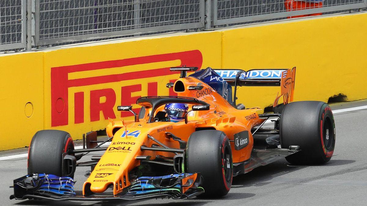 Fernando Alonso (McLaren) - Gran Premio de Azerbaiyán 2018