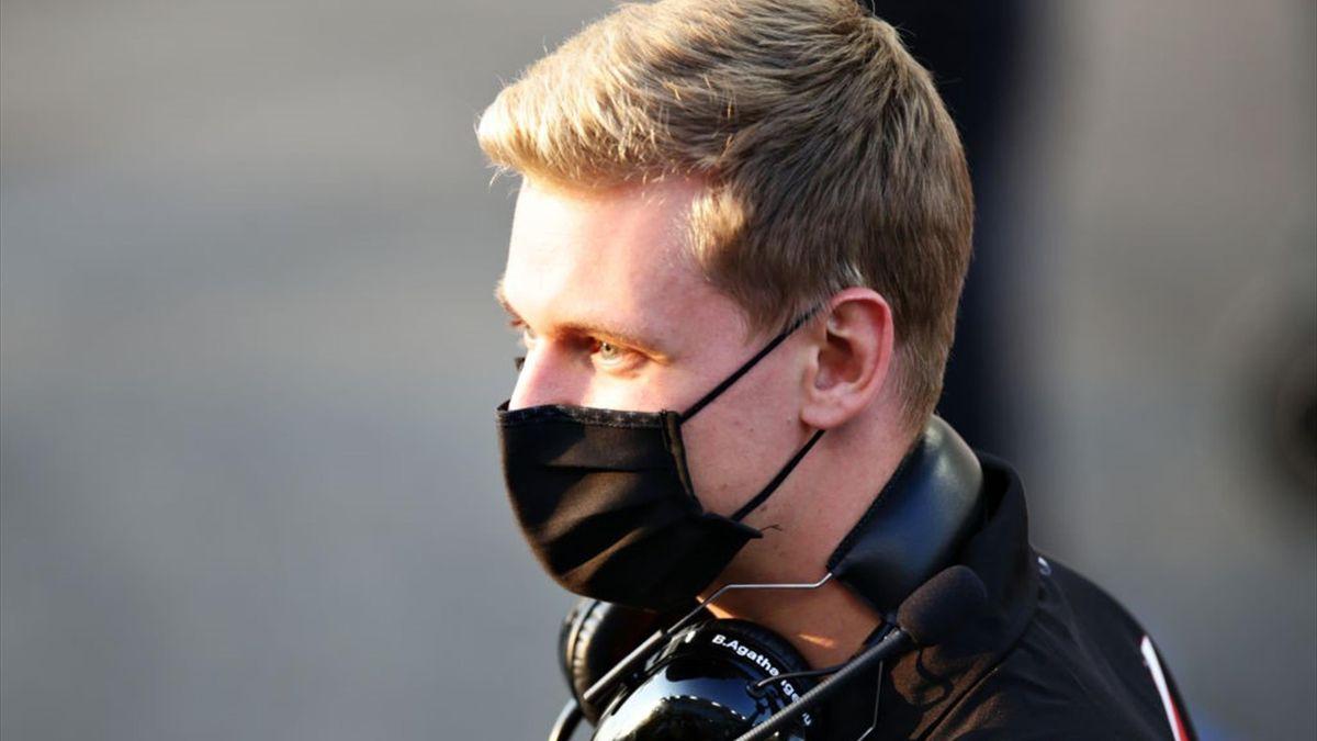 Mick Schumacher (Haas) au Grand Prix d'Abou Dabi 2020