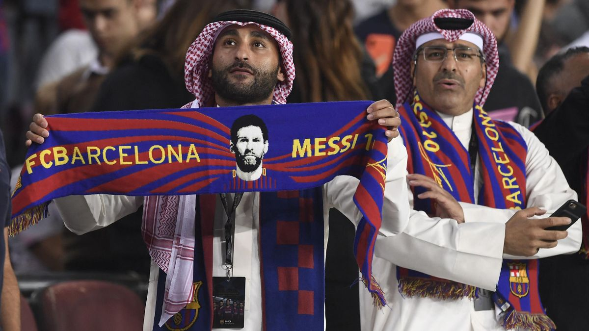 Barcelona szurkolók UEFA BL 2019