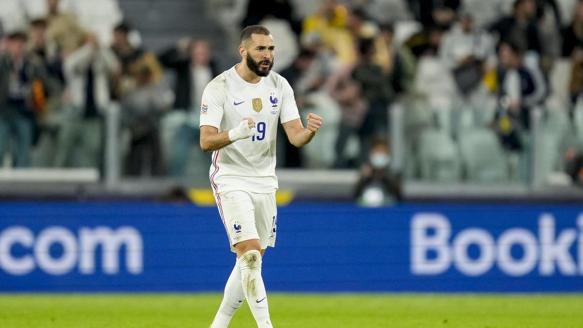 Benzema bringt die Franzosen wieder ran
