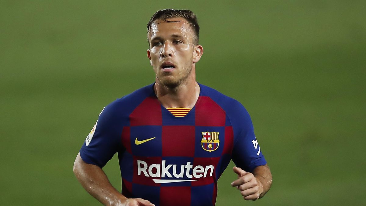Arthur Melo of FC Barcelona