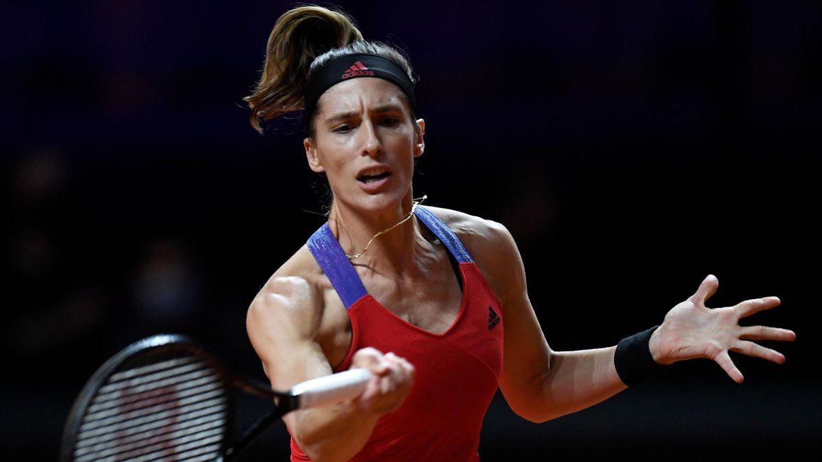 Andrea Petkovic bei der WTA-Tour in Stuttgart