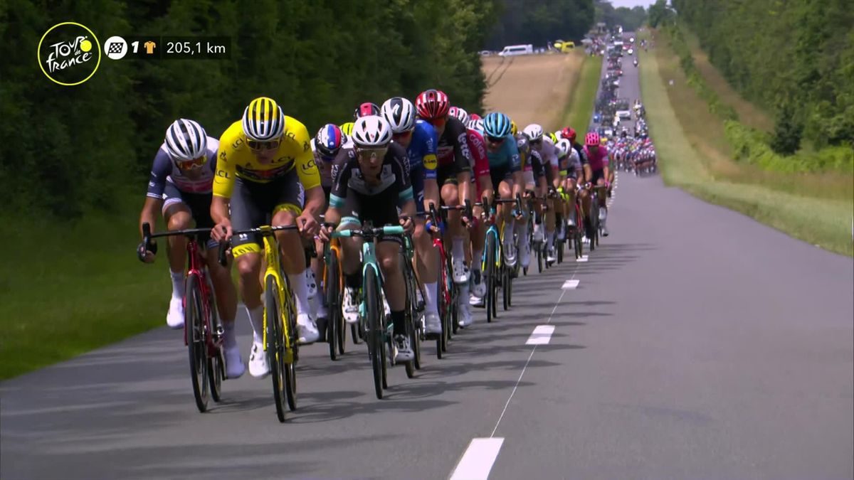 Tour de France: Stage 7: van der Poel attacks early as breakaway forms