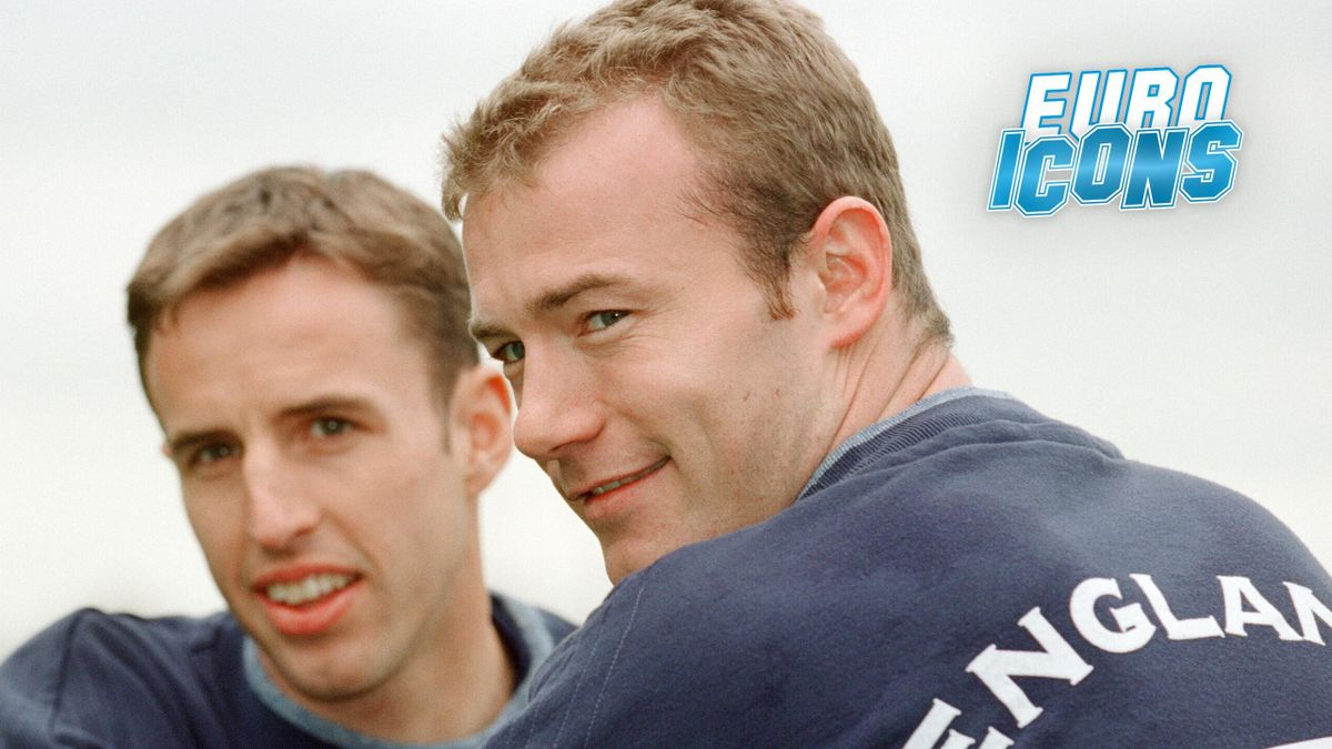 Alan Shearer and Gareth Southgate