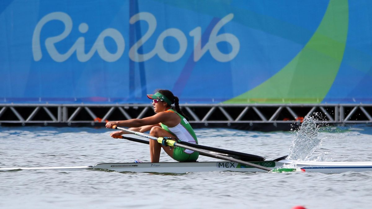 Rowing at Rio 2016 - Kenia Lechuga Alanis (MEX) of Mexico competes