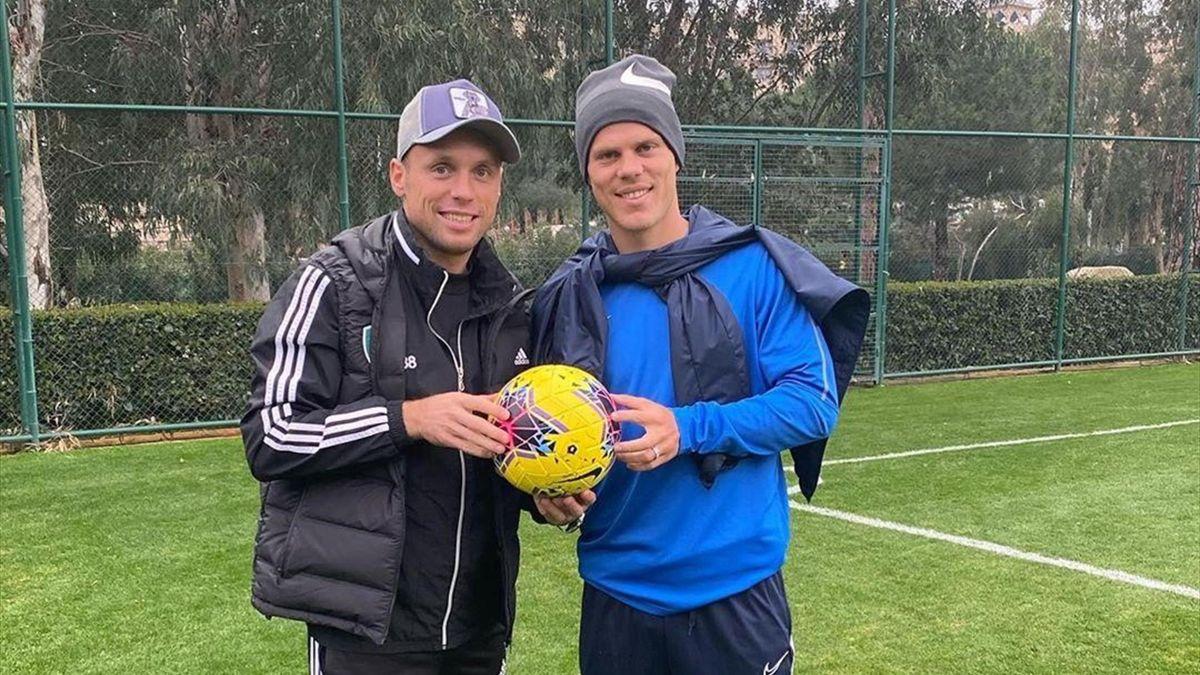 Денис Глушаков и Александр Кокорин