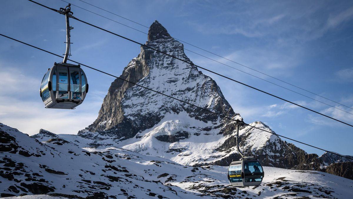 Das Matterhorn: Bald Kulisse für alpine Weltcup-Rennen.
