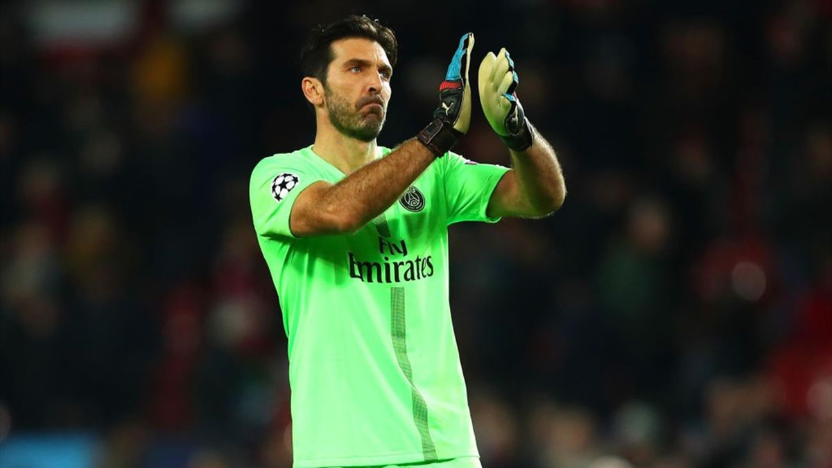 Buffon - Manchester United-PSG - Champions League 2018/2019