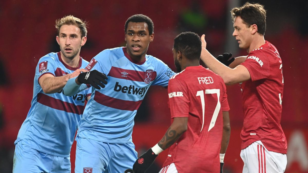 Issa Diop (second from left)