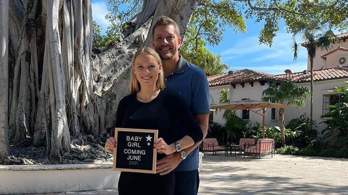 Caroline Wozniacki und David Lee ewarten ein Kind