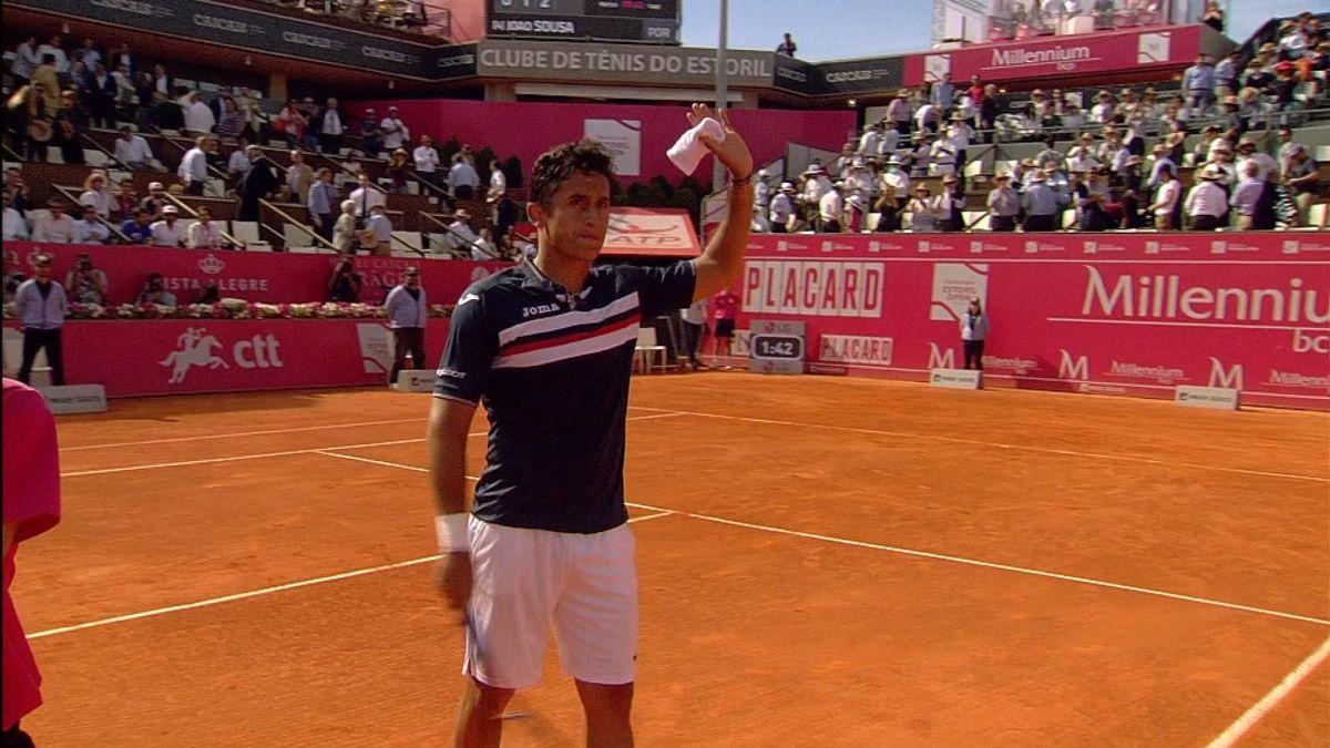 ATP Estoril - 2nd Round: Almagro v Sousa+ Caption ATP Estoril - 2nd Round : Results