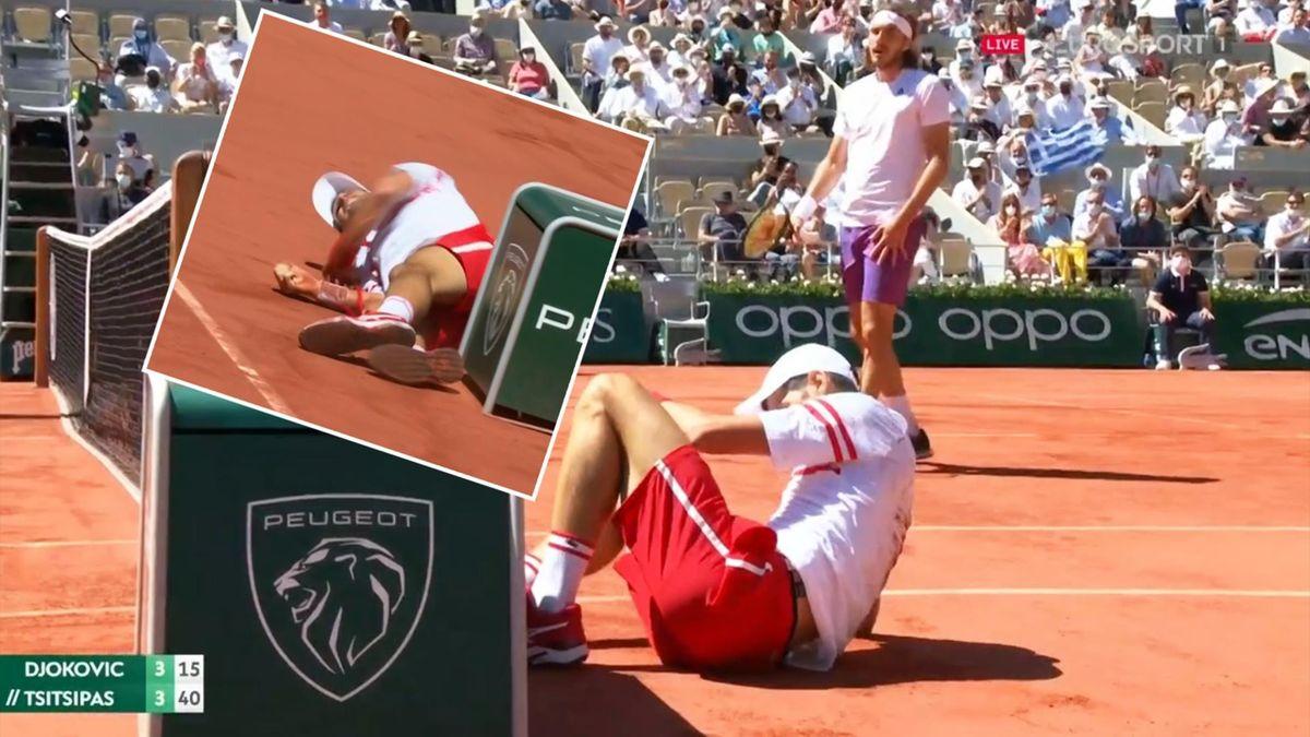 'Really nasty!' - Djokovic suffers very scary fall by board in final