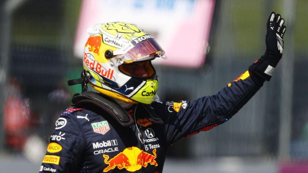 Max Verstappen dopo la pole position conquistata nelle qualifiche del GP Austria - F1 Mondiale 2021
