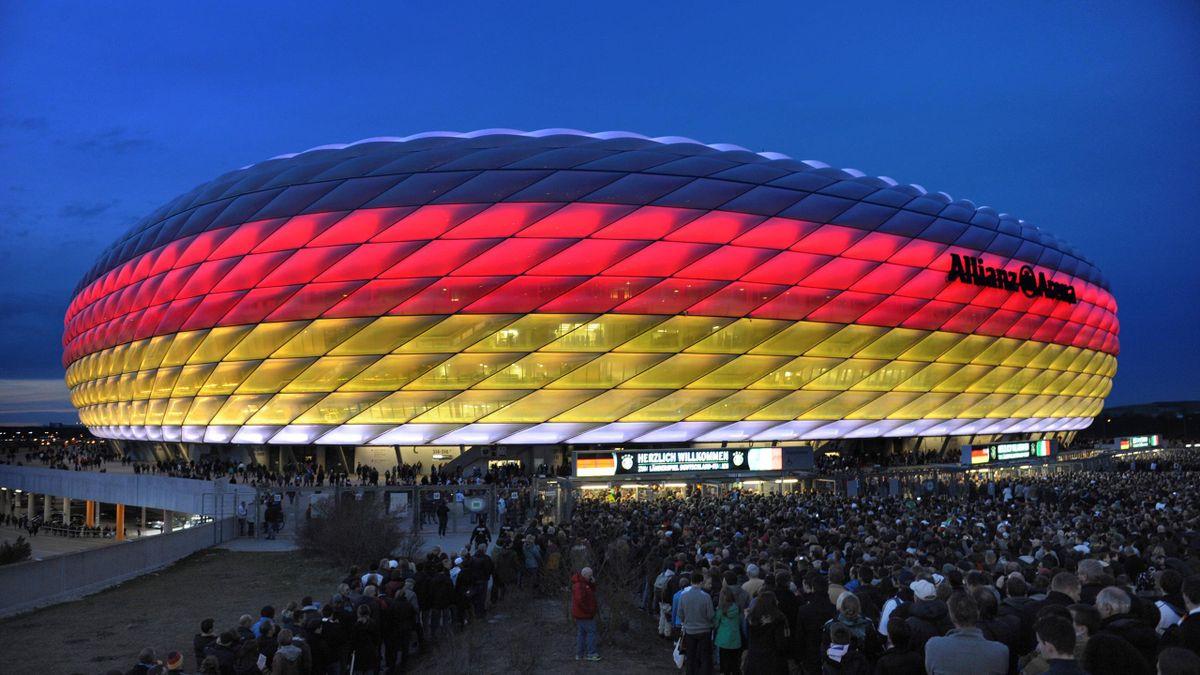In der Münchner Allianz Arena sollen 14.000 Fans pro EM-Partie Platz finden
