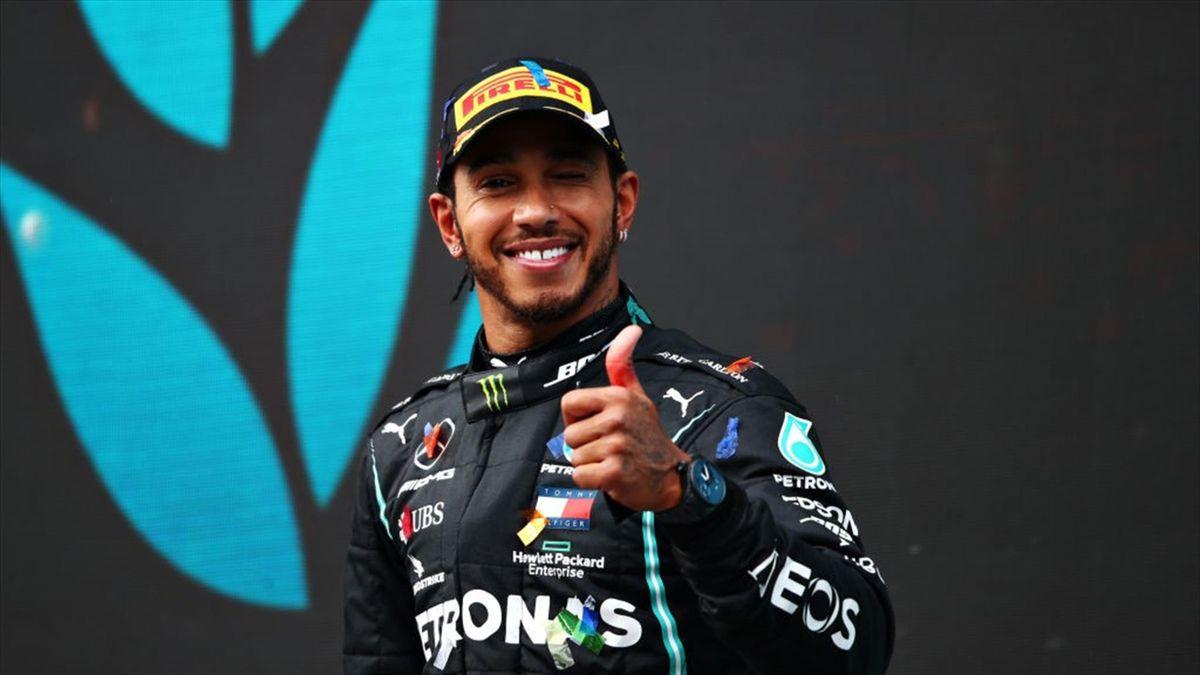 Lewis Hamilton (Mercedes) - GP of Turkey 2020