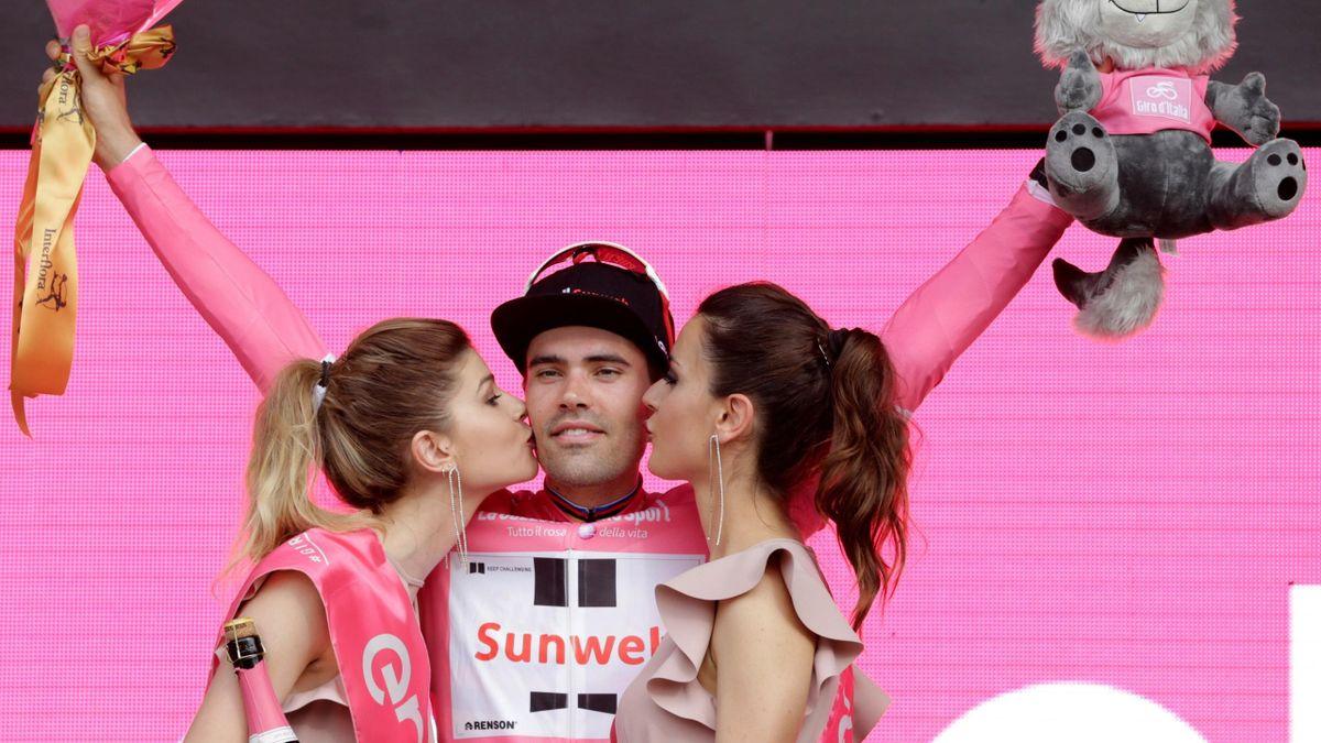 Tom Dumoulin, podio en el Giro de Italia 2018
