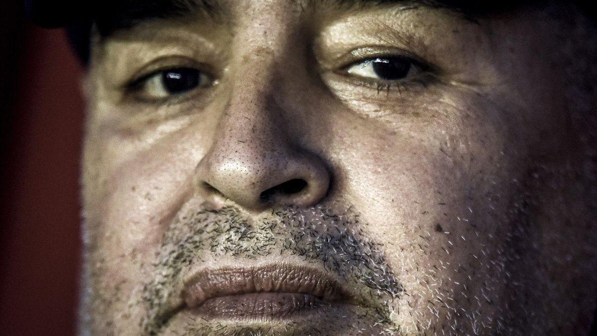 Diego Maradona, la légende du football décédée le 25 novembre 2020.
