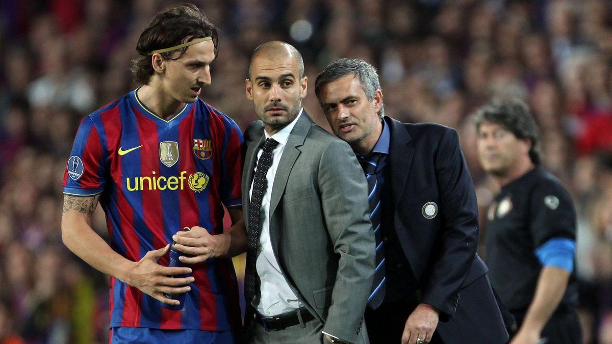 Mourinho, lângă Guardiola și Ibrahimovic, în semfinala Ligii Campionilor, 2010