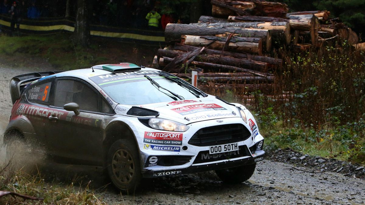 Elfyn Evans (Ford M-Sport) - Rally of Great Britain 2015