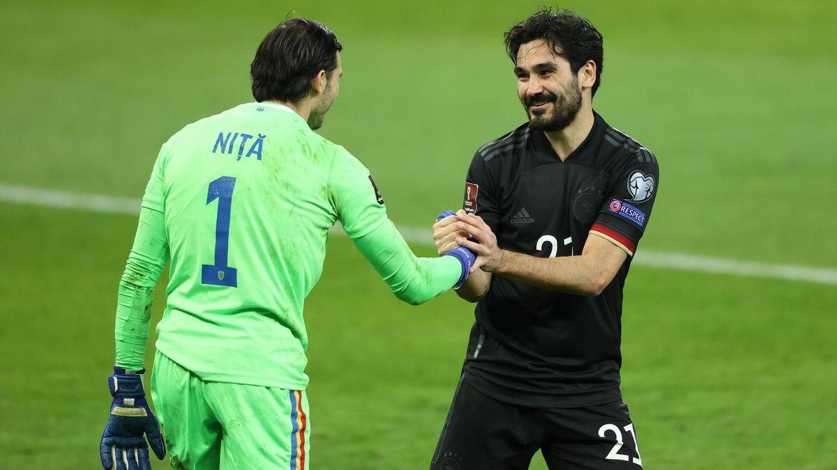 Niță și Gundogan, în România - Germania 0-1