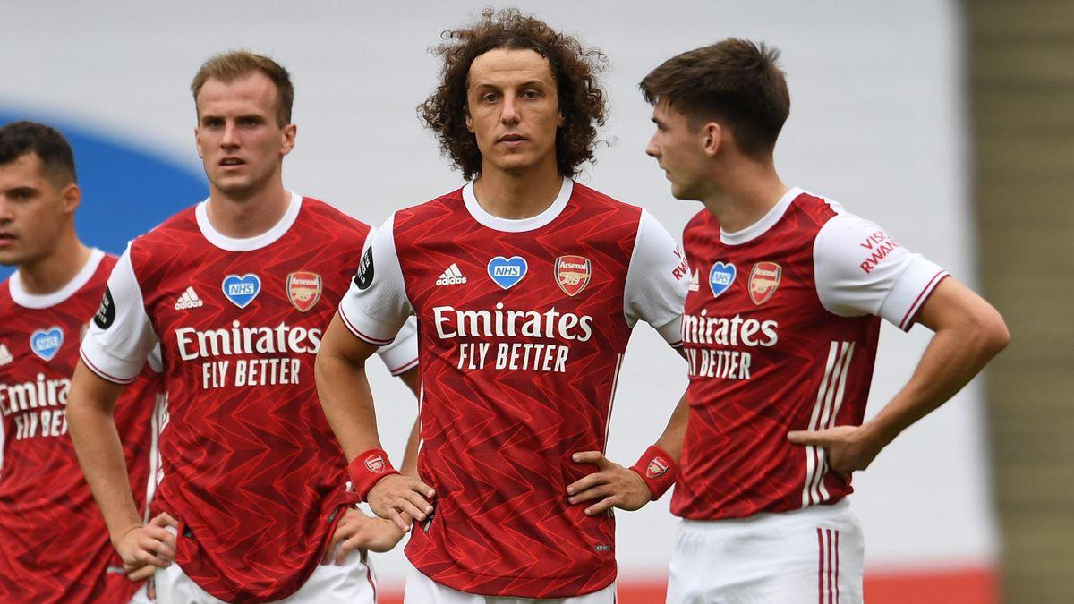 David Luiz during Arsenal vs Watford