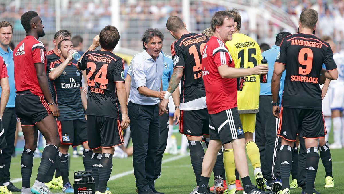 Was können Bruno Labbadia und der HSV bei Bayern ausrichten?